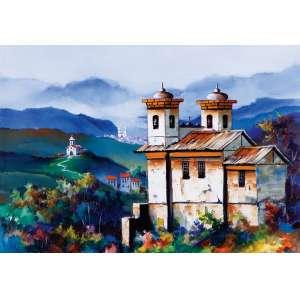 Marco Antônio Moreira - Ouro Preto – 70 x 100 cm – OST – Ass. CID