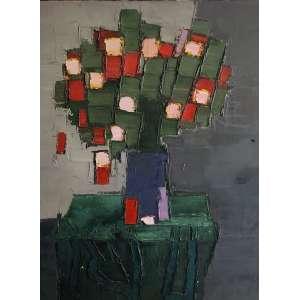 Ivan Marquetti - Flores – 85 x 60 cm – OST – Ass.CID e Dat.1991