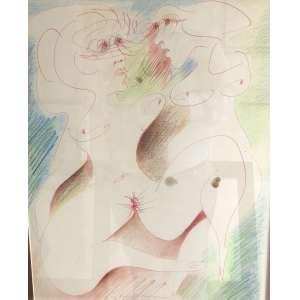 Ivan Serpa - Bichos – 50 x 35 cm – Técnica Mista – Ass.MI e Dat.1972