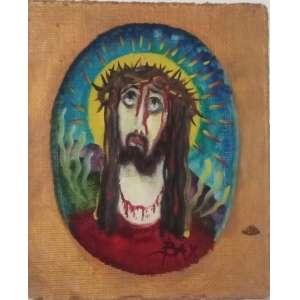 Petrônio Bax Cristo – 19,5 x 17 cm – OSE – Ass.CID e Dat.1967