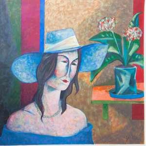 Jarbas Juarez Noite de Gala - 70 x 70 cm – AST – Ass. CID e Dat. 2005