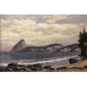 Mauro Ferreira - Praia do Russel 1890 - 20 x 30 cm – OSM – Ass.CIE e Dat.2010