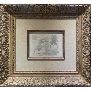 Cândido Portinari - Plantando Bananeira – 25 x 31 cm - Desenho a grafite sobre papel – Ass.CIE e Data Circa de 1955 – Acompanha certificado de autenticidade emitido pelo Projeto Portinari