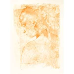 "CARLOS ARAÚJO - ""Figura feminina""- 100 x 70 cm – Litografia Tiragem 18/40 – Ass.CID"