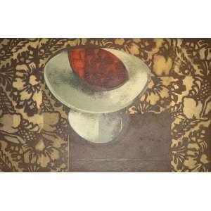 Carlos Scliar - Fruta de cactos – 37 x 56 cm – VCEST – Ass.CID e Dat.1974
