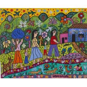 "ANTÔNIO EUSTÁQUIO - ""Rural"" – 40 x 50 cm – OSE – Ass. CID e Dat. 2010"