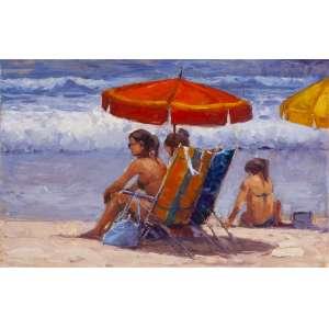 """MAURO FERREIRA - """"Dia de sol em Ipanema"""" – 25 x 39 cm – OSMDF – Ass. verso e Dat. 2013"""