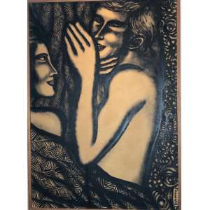 FARNESE DE ANDRADE - Romance – 70 x 50 cm – ANESC – Ass.CID e Dat.1968