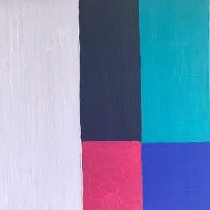 """Edna Assis - """"Retalhos"""" - 50 x 50 cm - AST - Ass.Verso"""