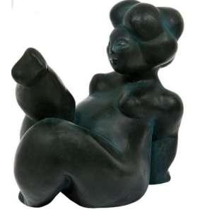 DIEGO RODRIGUES - Exuberante – 80 cm de altura – Escultura em resina com pó de bronze – Ass.Base e Dat.2020