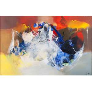 CONILLO - Abstração – 92 x 140 cm – AST – Ass. CID