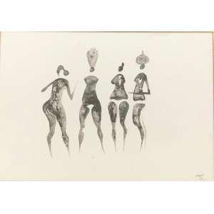 Carybé - Lavadeiras- 35 x 50 cm – Guache sobre cartão – Assinatura canto inferior direito e Data 1970