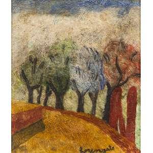 Lorenzato - Primavera- 28 x 24 cm – Óleo sobre tela – Assinatura canto inferior direito