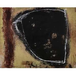 Marco Túlio Rezende - Composição - 90 x 110 cm - Óleo sobre eucatex - Assinatura verso e Data 1989