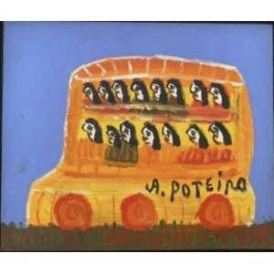 Antônio Poteiro - Coletivo - 25 x 30 cm - Óleo sobre tela - Assinatura canto inferior direito e Data 2007