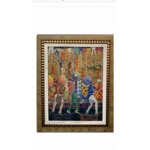 Heitor dos Prazeres Filho - Carnaval - 80 x 60 cm - Óleo sobre tela - Assinatura canto inferior direito