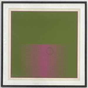ALMIR MAVIGNIER - Sem titulo - serigrafia 38/55 - 60 x 60 cm - a.c.i.c. 1975
