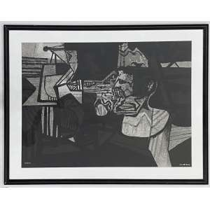 BURLE MARX, Roberto - Abstrato - serigrafia 53/100 - 55 x 75 cm - a.c.i.d.