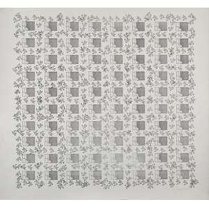 LEON FERRARI - Sem titulo -serigrafia 14/100 - 70 x 76 cm - a.c.i.d. 1986 <br />