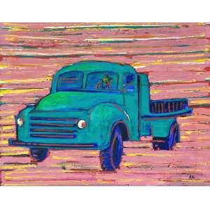 GERCHMAN, Rubens - Carro - óleo sobre tela - 80 x 100 cm - a.c.i.d. 2006