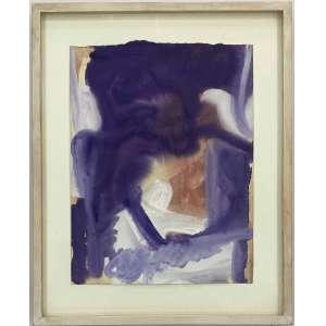 PAULO MONTEIRO - Abstrato - guache sobre cartão - 40 x 30 cm - a.c.i.d. 1995