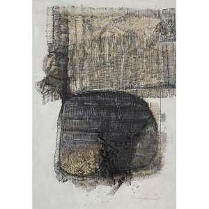TOMOSHIGUE KUZUNO - Sem titulo - técnica mista sobre papel - 86 x 59 cm - a.c.i.d. 1963