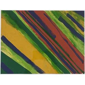 NIOBE XANDÓ - Sem titulo - acrílica sobre papel - 26 x 34 cm - a.c.s.d. 1984 - obra registrada na catalogação da artista.