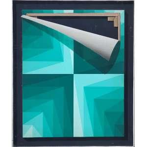 TOMAS ABAL - No Me Gusta - acrílica sobre tela - 61 x 50 cm - ass. no verso 1977