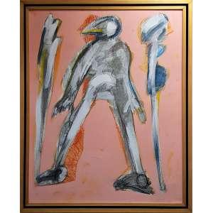 GRANATO, Ivald - Figura - acrílica sobre tela - 100 x 80 cm - a.c.i.d. 1999