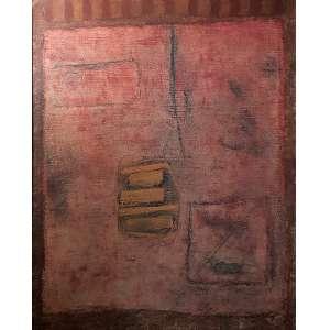 IANELLI, Arcângelo - Composição - óleo sobre tela - 95 x 76 cm - a.c.i.e. 1968 - com certificado do instituto Ianelli.