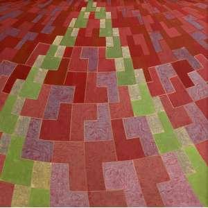 ALDIR MENDES DE SOUZA - Composição Nº 23 - têmpera sobre tela - 100 x 100 cm - ass. no verso
