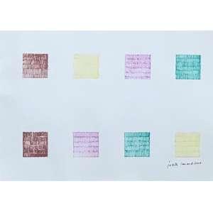 JUDITH LAUAND - Sem titulo - caneta fineliner sobre papel - 20 x 30 cm - a.c.i.d. 2006