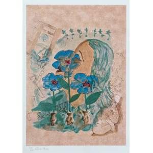 CICERO DIAS - Surrealismo - serigrafia 131/150 - 61 x 44 cm - a.c.i.e. - Obs: sem moldura