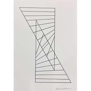 SÉRVULO ESMERALDO - Sem titulo - serigrafia P/I - 70 x 50 cm - a.c.i.d. - Obs: sem moldura