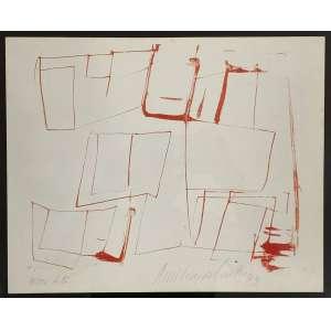 AMILCAR DE CASTRO - Sem titulo - litografia 45/100 - 30 x 36 cm - a.c.i.d. 1993
