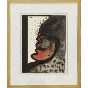 ARTUR BARRIO - Figura - técnica mista - 38 x 29 cm - a.c.s.e. 1972