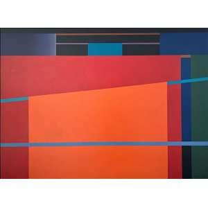 PAULO CALAZANS - Varal da Pamplona - acrílica sobre tela - 100 x 150 cm - a.c.i.d. 2009