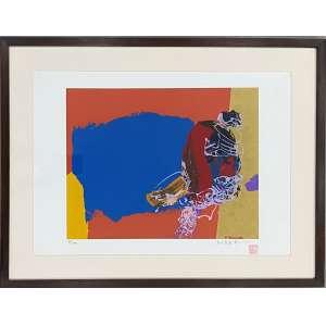 MABE, Manabu - Abstrato - serigrafia 78/100 - 35 x 50 cm - a.c.i.d.
