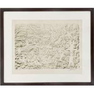 GRUBER, Mario - Sem titulo - litografia 48/140 - 30 x 40 cm - a.c.i.d. 1971