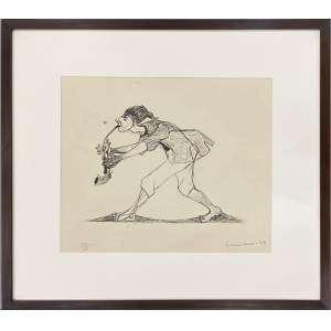 GRACIANO, Clovis - Musico - gravura em metal 33/100 - 28 x 33 cm - a.c.i.d. 1979