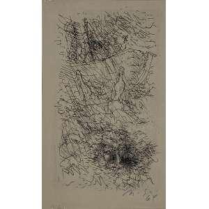 GRASSMANN, Marcelo - Sem titulo - gravura - 23 x 14 cm - a.c.i.d. 1964 - Obs: sem moldura