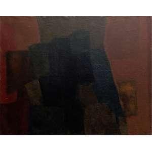 IANELLI, Arcângelo - Abstrato - óleo sobre tela - 73 x 92 cm - a.c.i.d. 1961