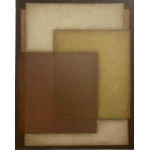 IANELLI, Arcângelo - Vibraçãoes no quadrado - óleo sobre tela - 100 x 80 cm - a.c.i.d. 1981 - Obs: acompanha certificado de autenticidade emitido pela Estúdio Katia Ianelli