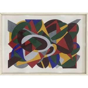 TOZZI, Claudio - Sem titulo - serigrafia P/A - 50 x 70 cm - a.c.i.d.