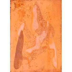 TOMIE OHTAKE - Sem título 31 - matriz de gravura em cobre - 56 x 40 cm - 2008