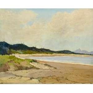 """GARCIA BENTO - """"Lagoa Rodrigo de Freitas"""", óleo sobre tela, 73 x 92, assinado no canto inferior esquerdo, 1926."""