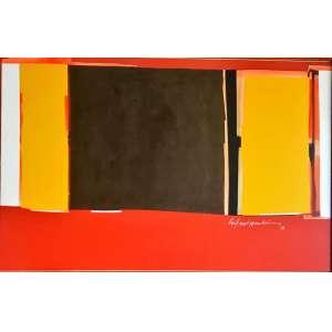 SYLVIO OPENHEIM - Composição, óleo sobre tela, 100 x 150, assinado no canto inferior direito, 1986.