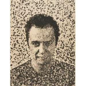 VIK MUNIZ - Fotogravura 132 x 105, assinado, 2003. A obra consta no livro do artista.