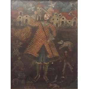 CUSQUENHO - óleo sobre tela, 50 x 65.