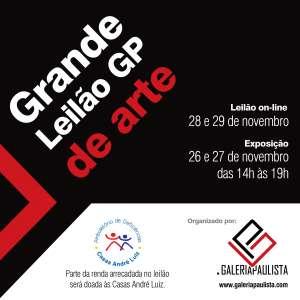 Galeria Paulista - Grande Leilão GP de Arte - Novembro/2019